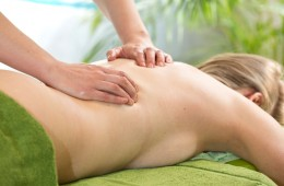 Regenerative Körpermassage