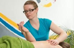Intensive Rückenmassage